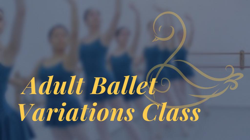 adult ballet banner 2 1024x577 - Adult Ballet Variations Class